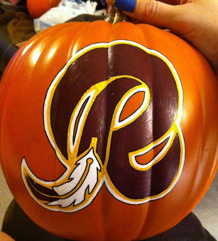 Redskins pumpkin