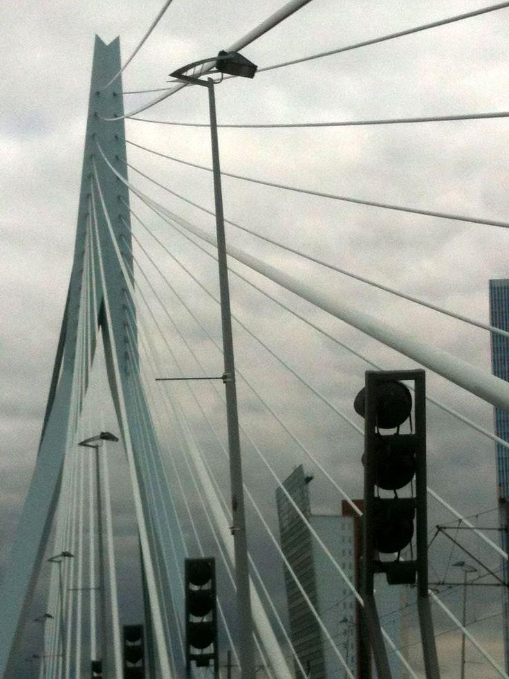 On the steel bridge