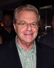 """Gerald 'Jerry' Springer -- (2/131944-??). British-Born American Television Presenter/Mayor/News Anchor/Musician/Talk-Show Host. Best known for """"The Jerry Springer Show""""."""