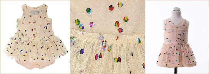 L'intramontabile tulle di Stella McCartney, per baby & girl  con Stella McCartney Kids www.cocochic.it/it/baby/438-abito-tulle-a-pois.html http://www.cocochic.it/it/bambina/396-gonna-honey.html