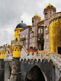 Pena National Palace,Sintra, Portugal: