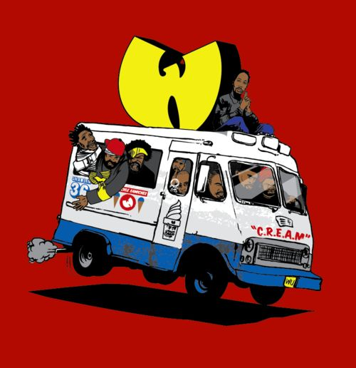 The Wu Tang ice cream truck.
