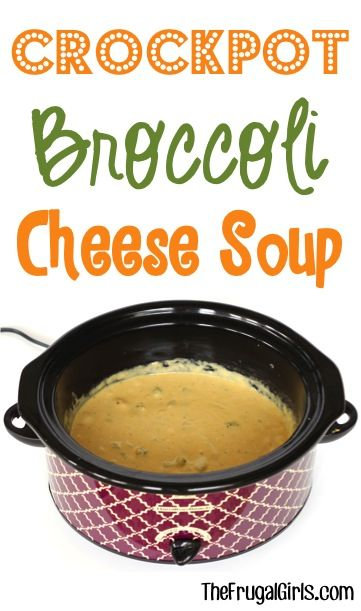 Crock pot broccoli cheese soup recipe from for Delicious slow cooker soup recipes