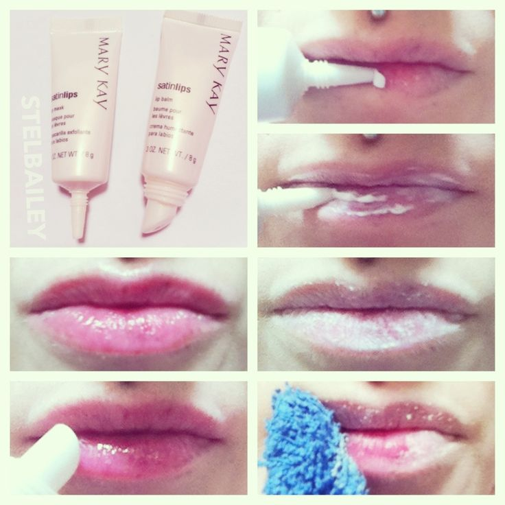 mary kay satin lips before and after. satin lips two-step lip care system. 1. mask contains miniature beads mary kay before and after