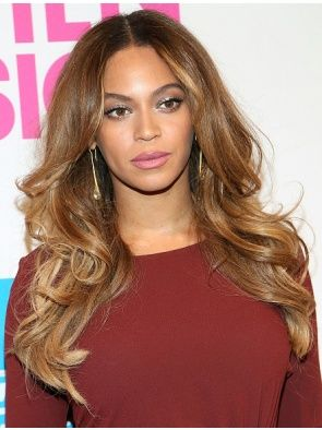 """Fashionable 24"""" Without Bangs Monofilament Beyonce Wigs"""