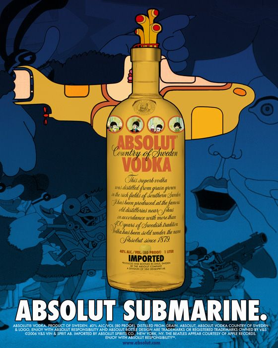 Absolut Vodka Ads | Absolut Submarine. by luckman15.deviantart.com on @deviantART