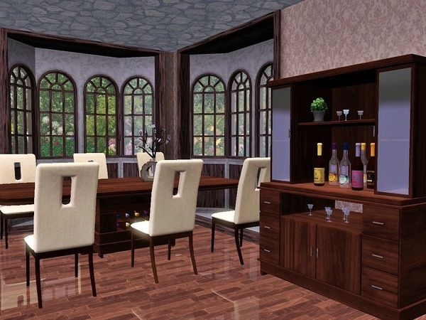 598 best sims 3 images on pinterest the sims chang 39 e 3 for Sims 3 dining room ideas