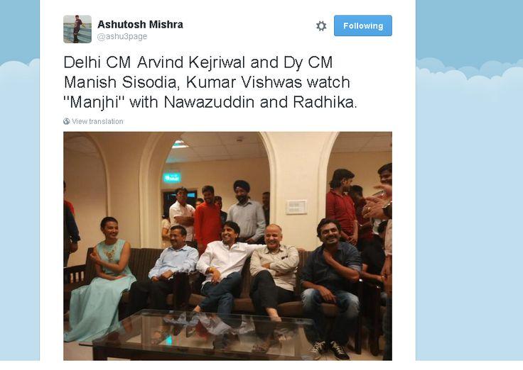 And kejriwal once again promotes Reliance group(VIACOM) produced movie ,who is real ambani agent? @nanditathhakur
