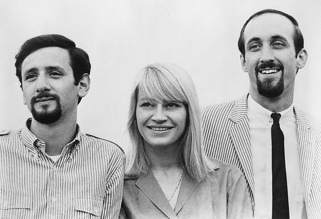 Peter Paul and Mary .... Oh I still love their music ... Mary's death was an heroic struggle and I wept. ... JamesAZiegler.com