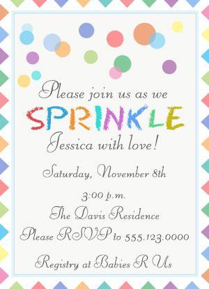 free printable baby sprinkle invitations baby shower invitation wordingbaby