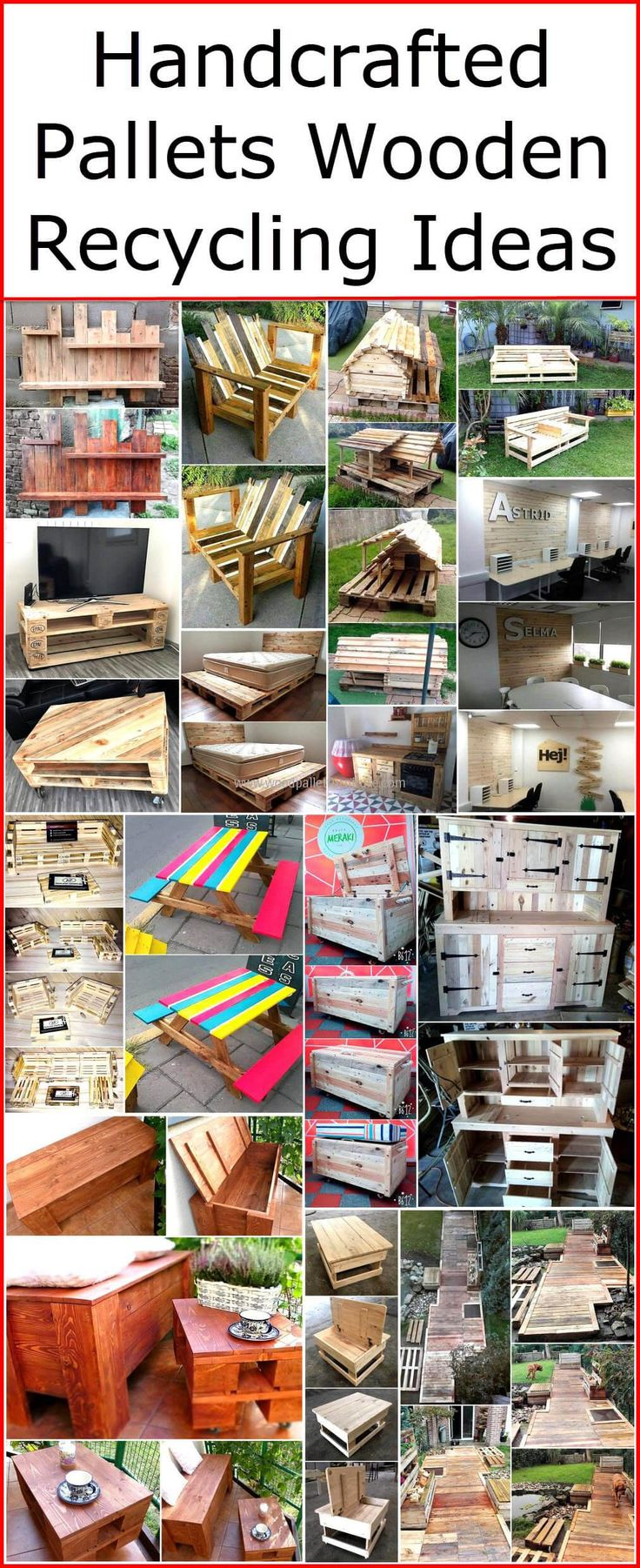 2001 best Pallet Ideas images on Pinterest