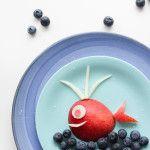 Walvis van fruit - Leuk voor het prentenboek van  Nationale Voorleesdagen.