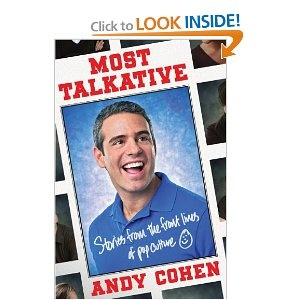 Most Talkative: Worth Reading, Pop Culture, Real Housewives, Books Worth, Andy Cohen, Front, Andycohen, Talkative, New Books