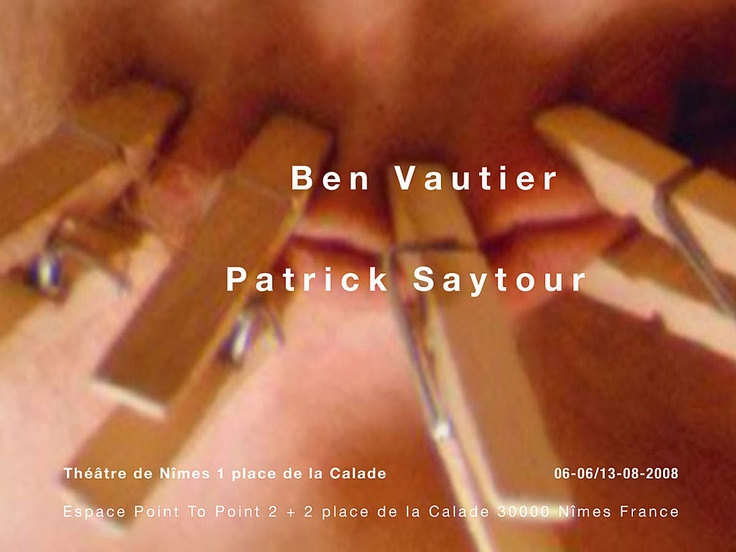 Escale Nimoises à vélo avec Bernadette Lafont  en compagnie de Ben vautier Et Patrick Saytour  http://ppgalerie.over-blog.com/article-escale-nimoise-art-contemporain-from-point-to-point-107227428.html