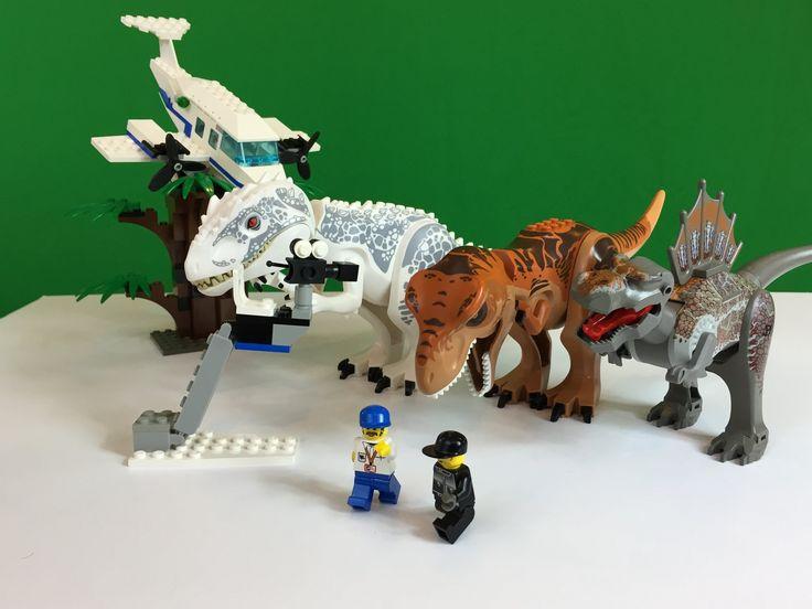 Lego studios 1371 jurassic park 3 spinosaurus attack dinosaurs review jurassic park - Lego dinosaurs spinosaurus ...