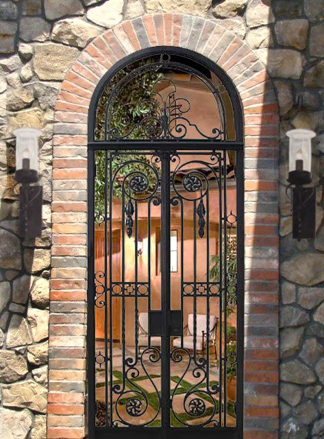 iron Gates - Reproduction Antique Gates - Antique Gates - Iron Gates ...