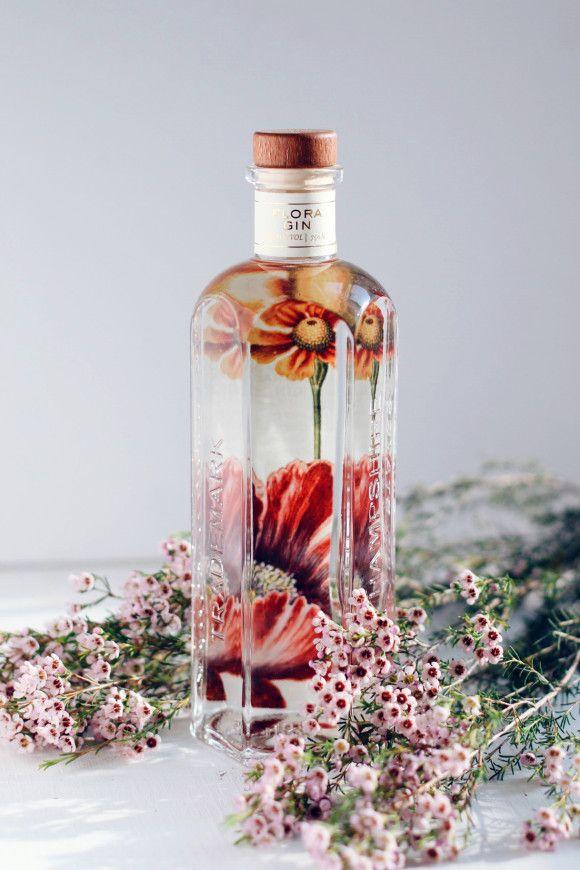 Making cocktails with Garden Flora Gin