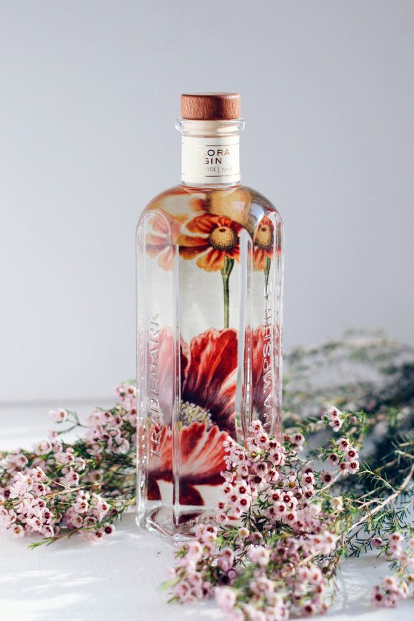 Making cocktails with Garden Flora Gin