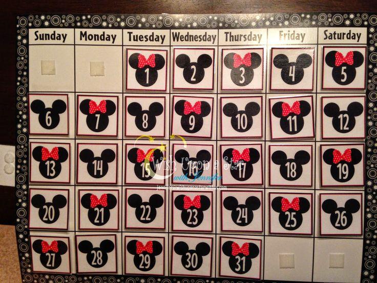 Wish Upon a Star with Jennifer: Disney Themed Preschool/Kindergarten Calendar…