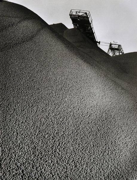 Sievers, Wolfgang, Stacker on Iron Ore Stockpile at Hamersley Iron, Dampier, Western Australia 1971