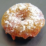 Hot Hand-Dipped Homemade Donuts - The Fractured Prune Donut Shoppe strawberry shortcake yummo