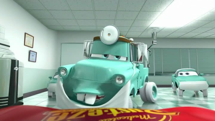 Doctor Mater Disney S Wonderland Pixar World