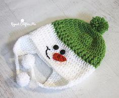 Crochet Snowman Hat | Repeat Crafter Me | Bloglovin' More