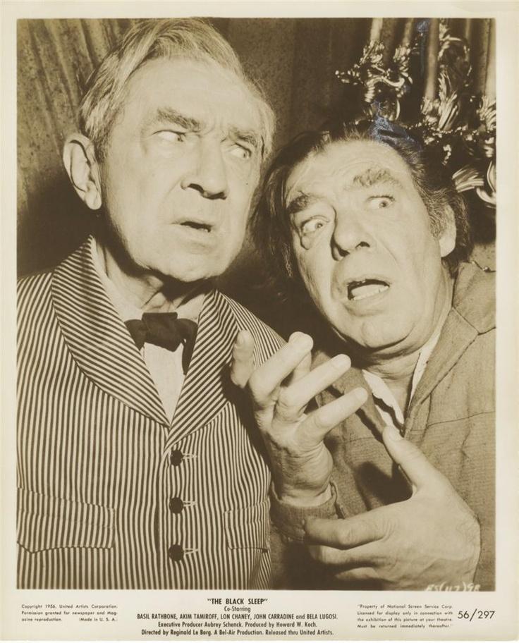 Bela Lugosi & Lon Chaney Jr.