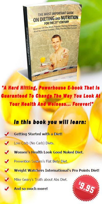 """""""The Most Important Guide On Dieting And Nutrition For The 21st Century!"""" BUY IT HERE!!!"""