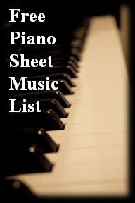 List of Websites with Free, Legal Piano Sheet Music Downloads.
