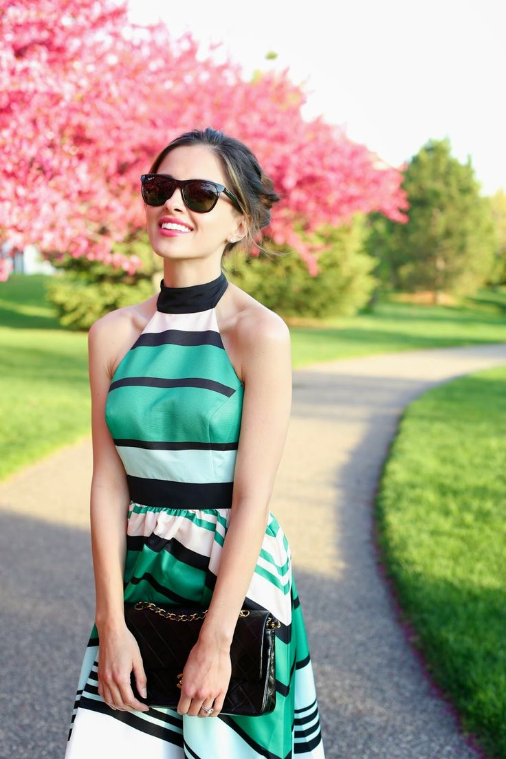 Anthropologie Dress // Espadrilles (similar here) // Vintage Chanel Bag // Ray-Ban Sunglasses There's not much I love more than a beautiful flowing dress! This handkerchief hemline and tight bodice...VIEW THE POST