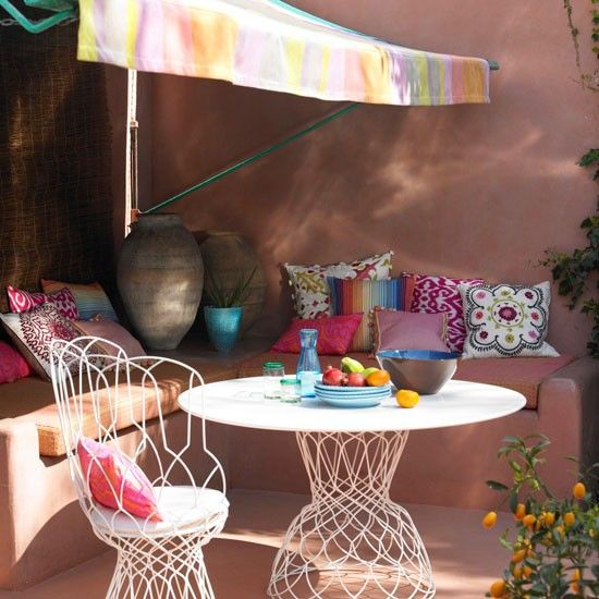 Use clever accessories | Garden terraces and decks - 10 best | housetohome.co.uk