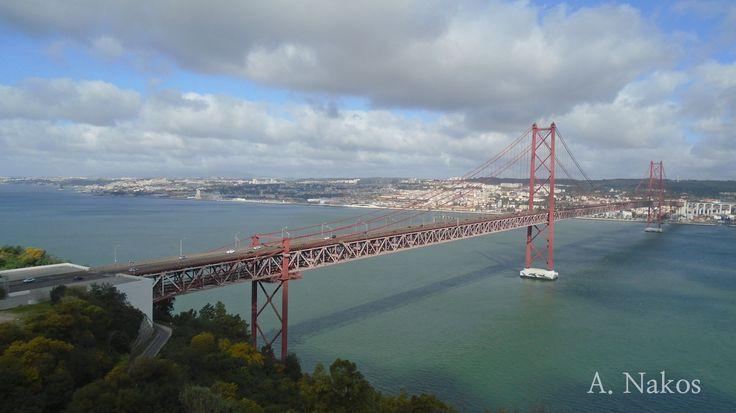Bridge of 25th April - Lisbon, Portugal