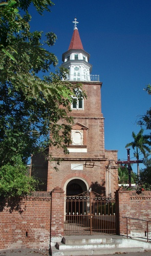 Spanish Town, Jamaica. With Jean Rhys in Wide Sargasso Sea.  The Spanish Town Anglican Cathedral of St. James
