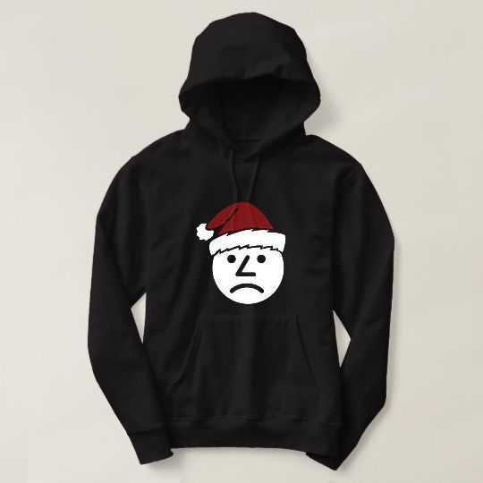 Ashens Santa Sad Onion Christmas Custom Hoodies