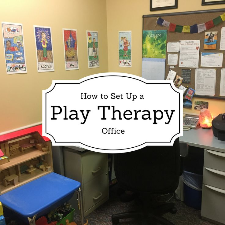 How to set up a play therapy office