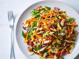 Do Chinese food the healthy way with this moist and succulent clean chicken salad, perfect for aiding fat loss from Ching-He Huang.
