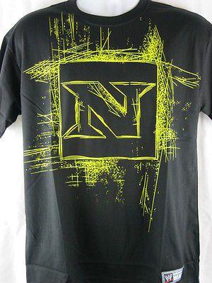 Nexus Scratch Logo Wade Barrett CM Punk Black WWE T-shirt New
