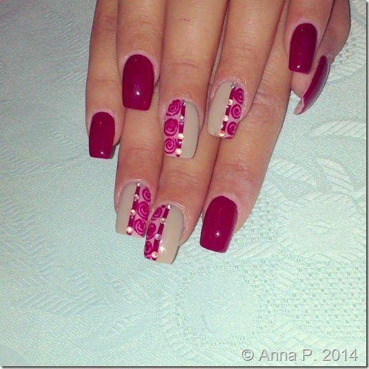 Σχεδια νυχιων για την Ρεβεγιον και οχι μονο 5-TwoChiChis #nails #nailart #polish #gel #christmas #revegion