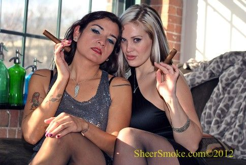 Mina and CJ Welcome You to SheerSmoke.com