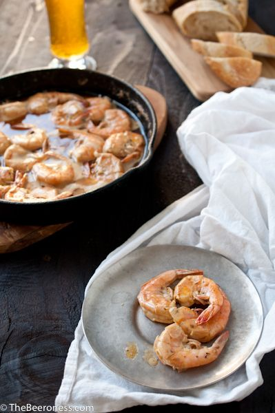 New Orleans Barbecue Beer Shrimp