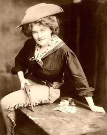Kitty Leroy, famous wild west gambler and gunfighter. m