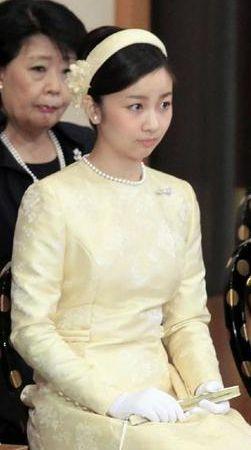 秋篠宮佳子内親王(あきしのみやかこないしんのう)殿下  Princess Kako, 皇紀2675年(平成27年, AD2015)  January 14, 2015