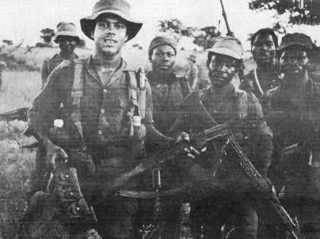 The Battalion, which also became known as the most successful counter insurgency unit of the SADF, was comprised mainly of former FNLA and other anti-communist fighters from Angola who had sworn allegiance to the South African government. Together with their South African officers, these troops forged a formidable Battalion that became known as the best operational Battalion of the South African Defence Force – if not one of the best in the world.