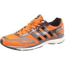 adidas Chaussures de Course Adizero Adios Boost Neutral Homme Orange/Noir