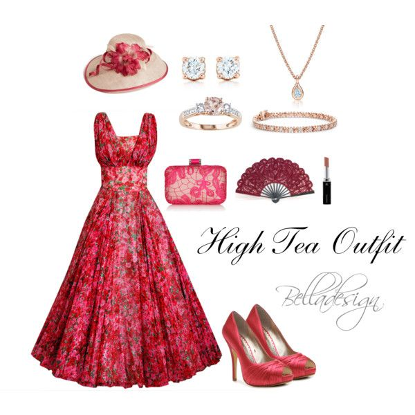 High Tea Outfit created by belladesign