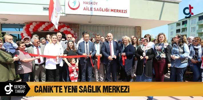 Canik'te Yeni Sağlık Merkezi