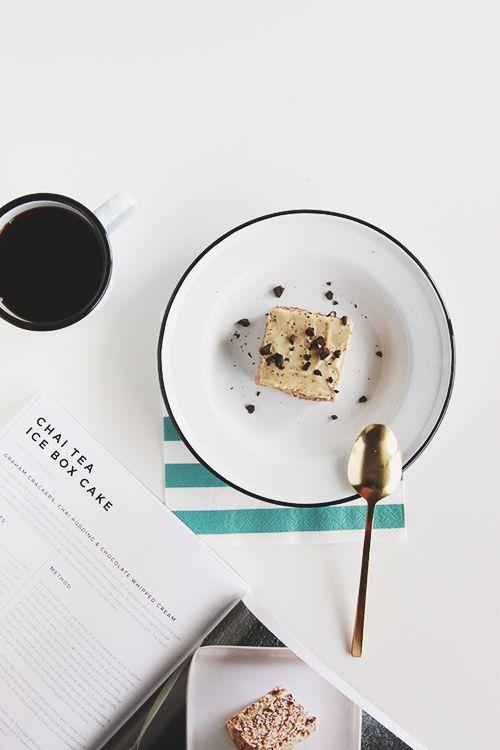 Chai Tea Ice Box Cake | The Fauxmartha