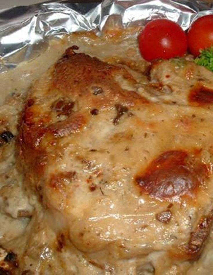 Ingredients 4 Boneless Pork Chops 1 10 1 2 Ounce Cans Campbells Cream