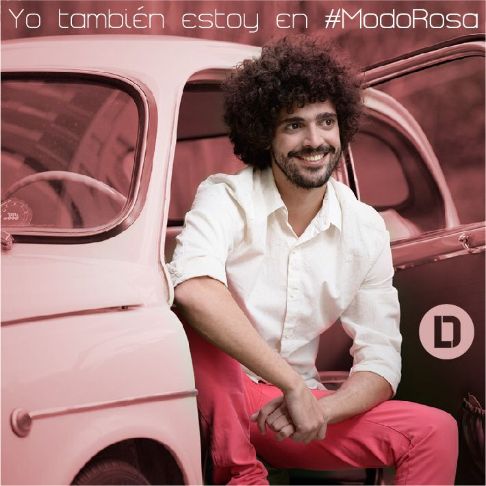 Yo también estoy en #ModoRosa! #DanielLema